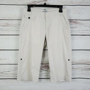 💰Carribean Joe | Roll Cuff Khaki Bermuda Shorts